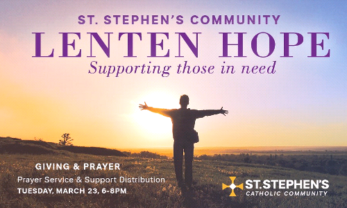 Introducing Lenten Hope