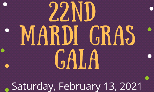 Mark Your Calendars for Mardi Gras Gala!