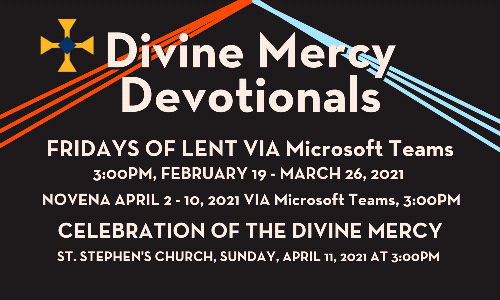 Divine Mercy Devotions 2021